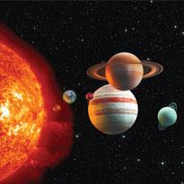 Conception 12 panneaux parcours planétaire