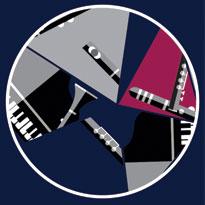 Création affiche concert piano flute clarinette