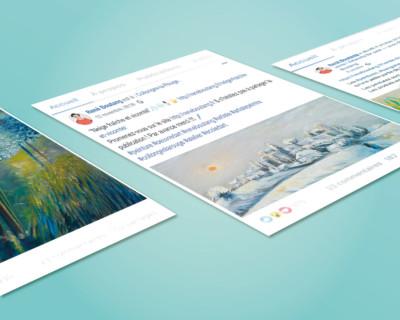 Webdesigner Graphiste Freelance Tours Community management réseaux sociaux