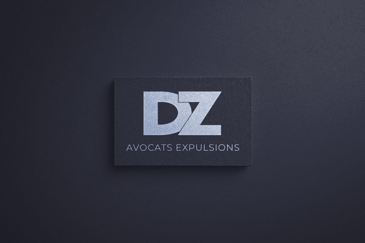 Création logo DZ Avocats site e-commerce