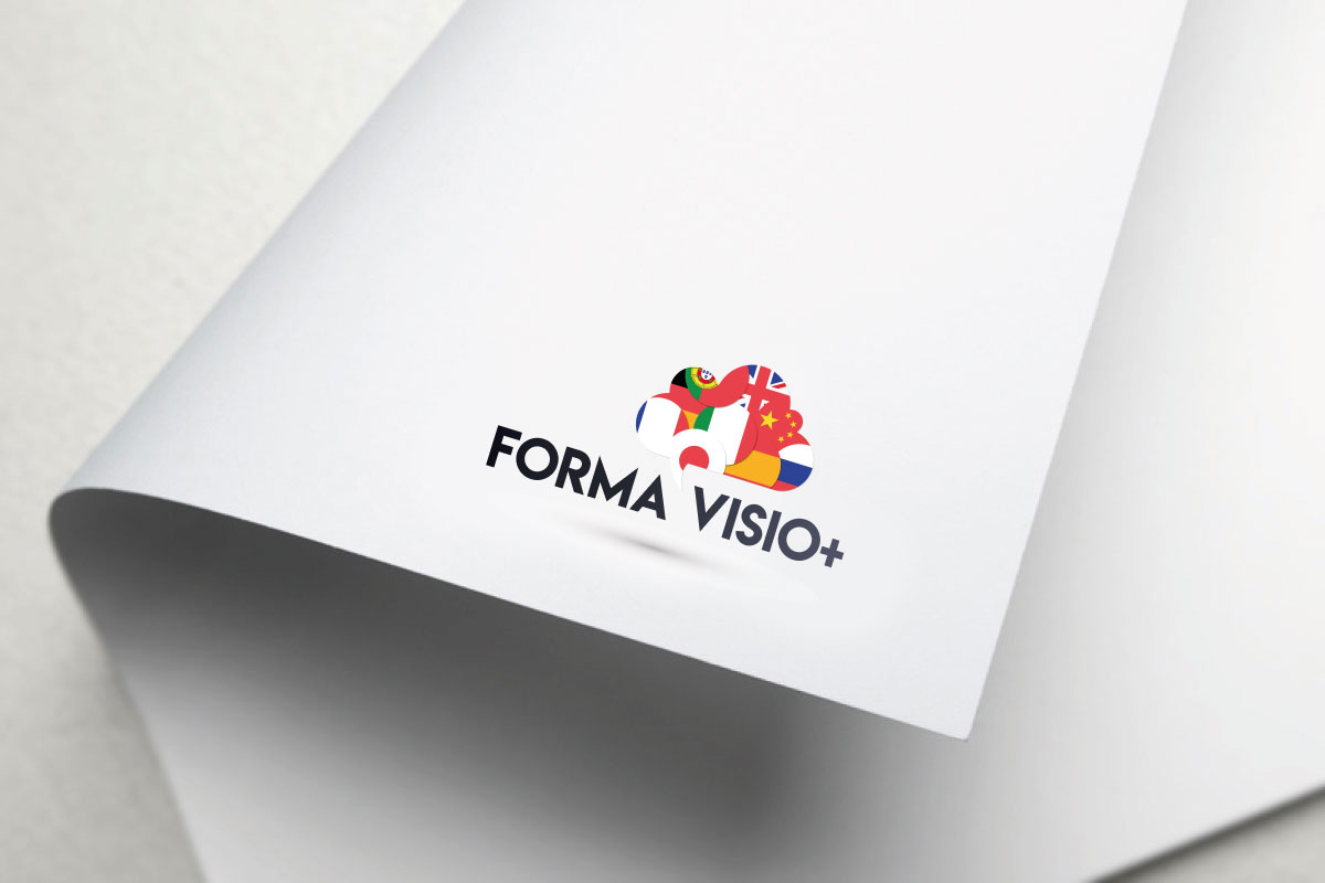 Conception logo Forma Visio+