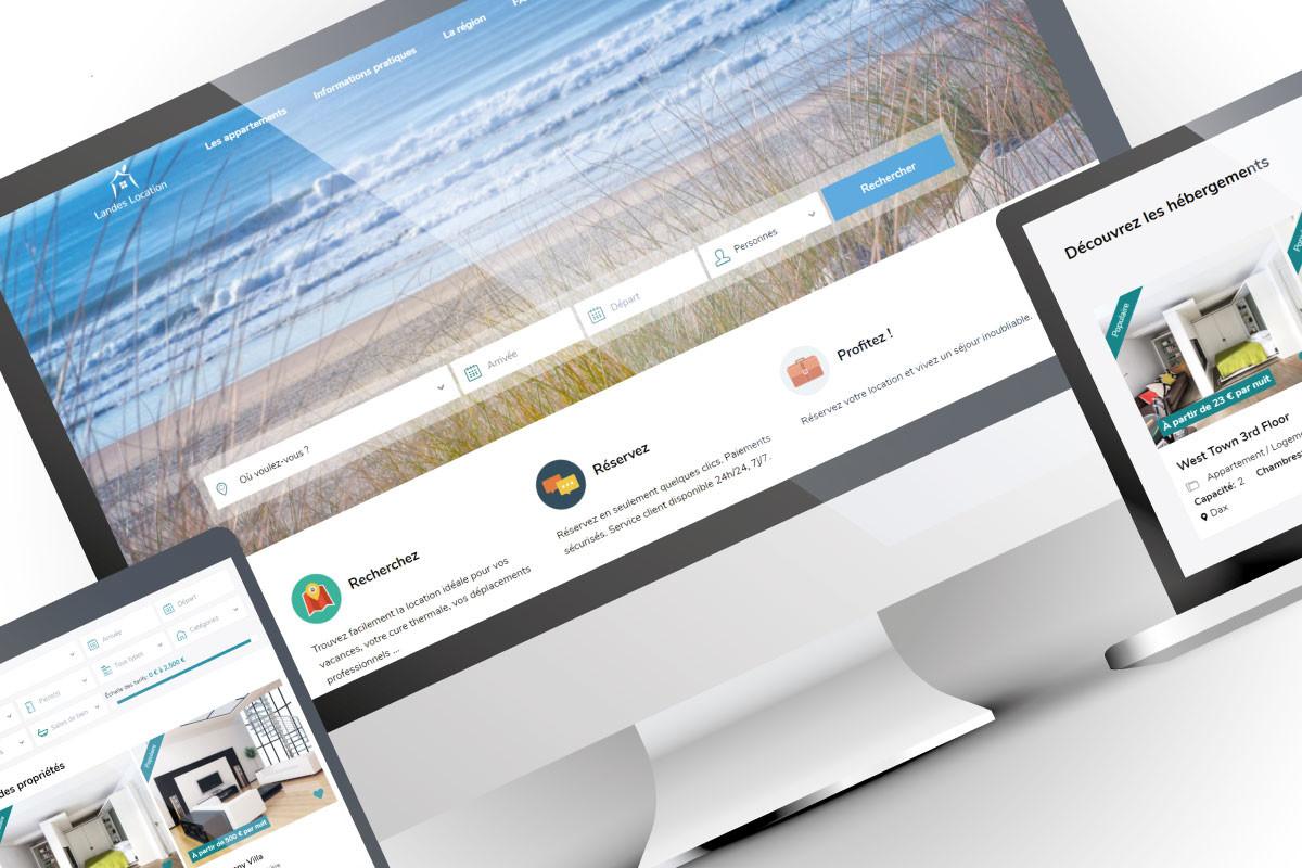Conception d'un site web de réservation de locations vacances
