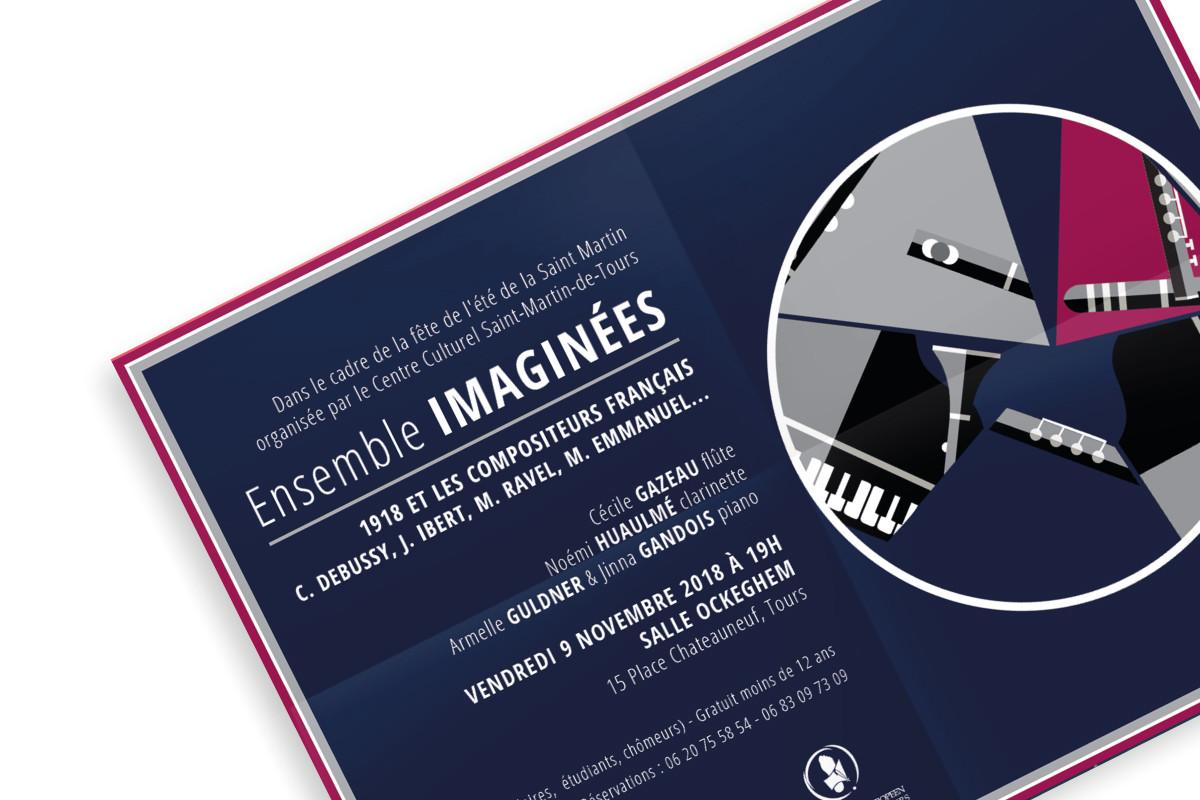 Conception affiche Concert classique