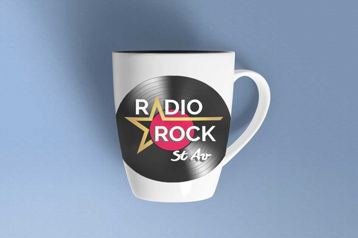 Conception logo Radio Rock