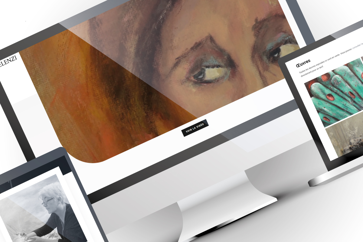 Création d'un site web artiste-peintre Felenzi