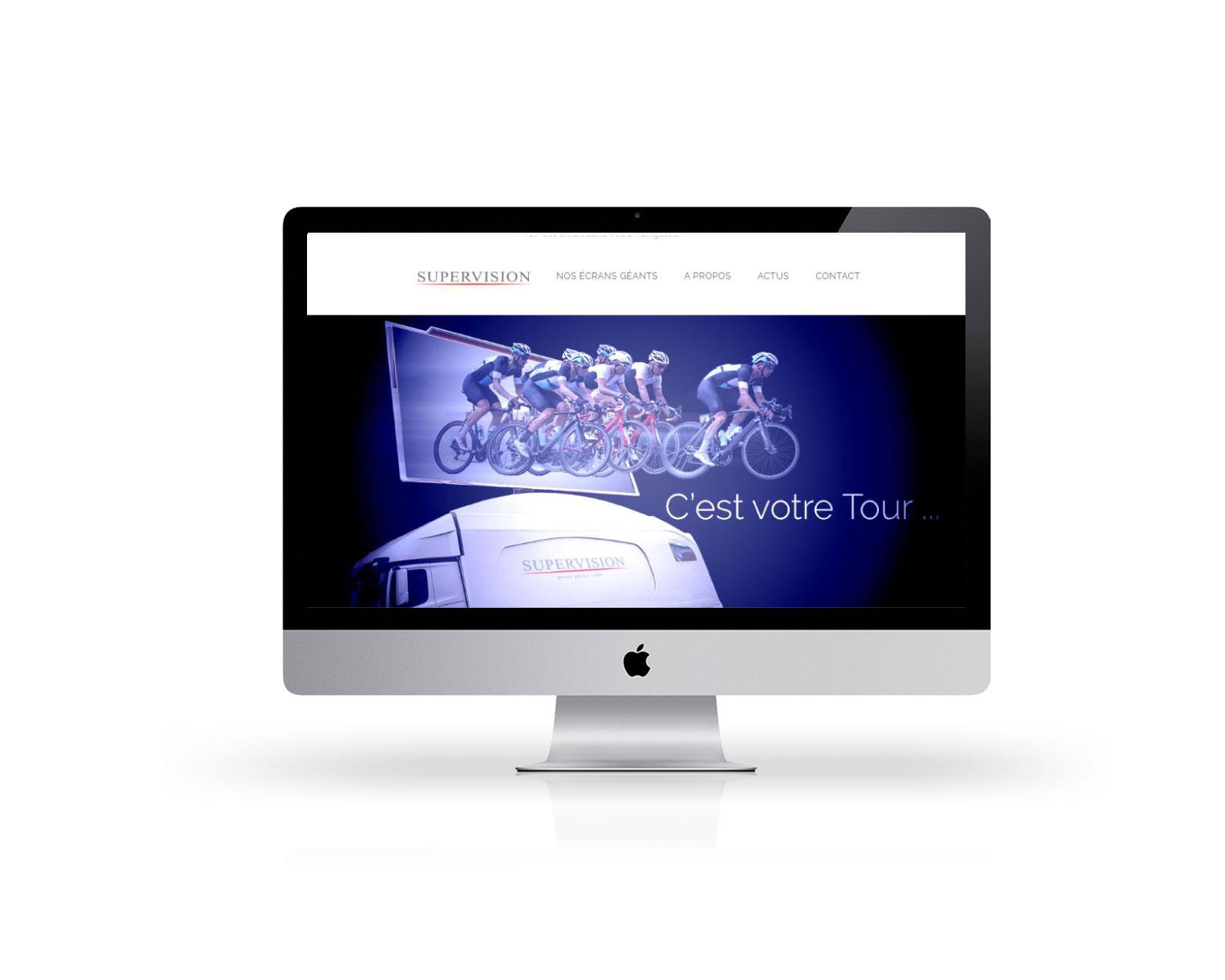 Emailing intégration html css Supervision écran géant