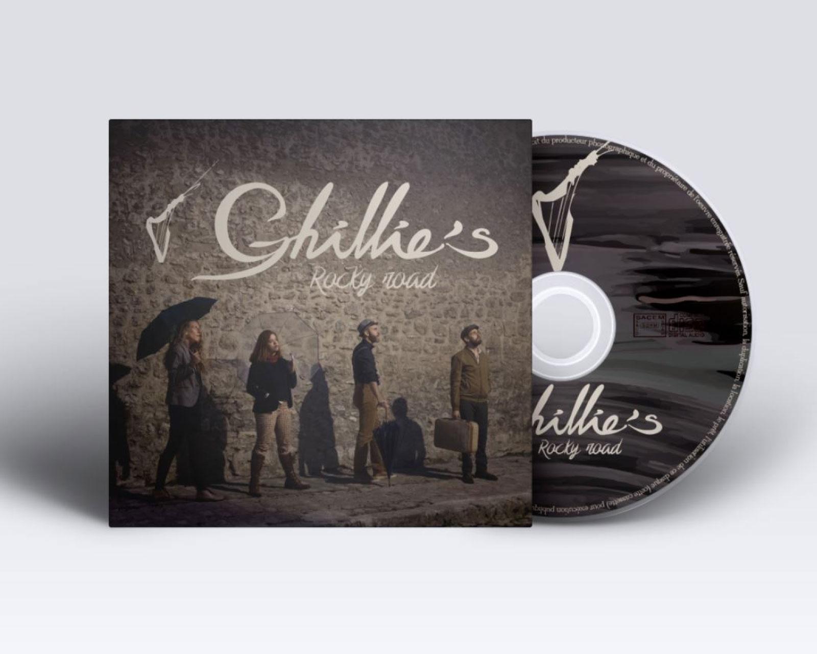 Création coffret CD pour groupe de musique irlandaise
