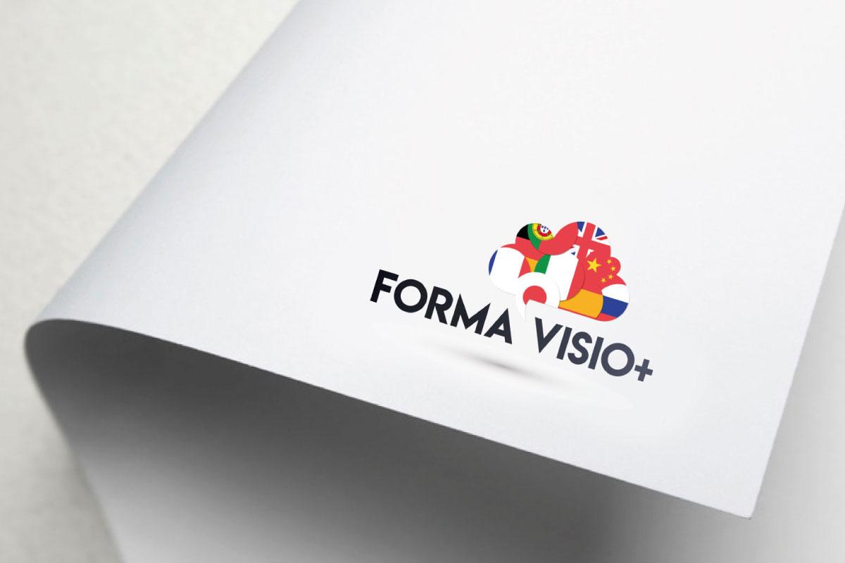 Création de logo institut de langues étrangères