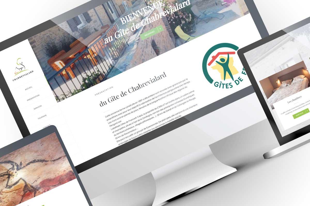 Création site web gîte de vacances