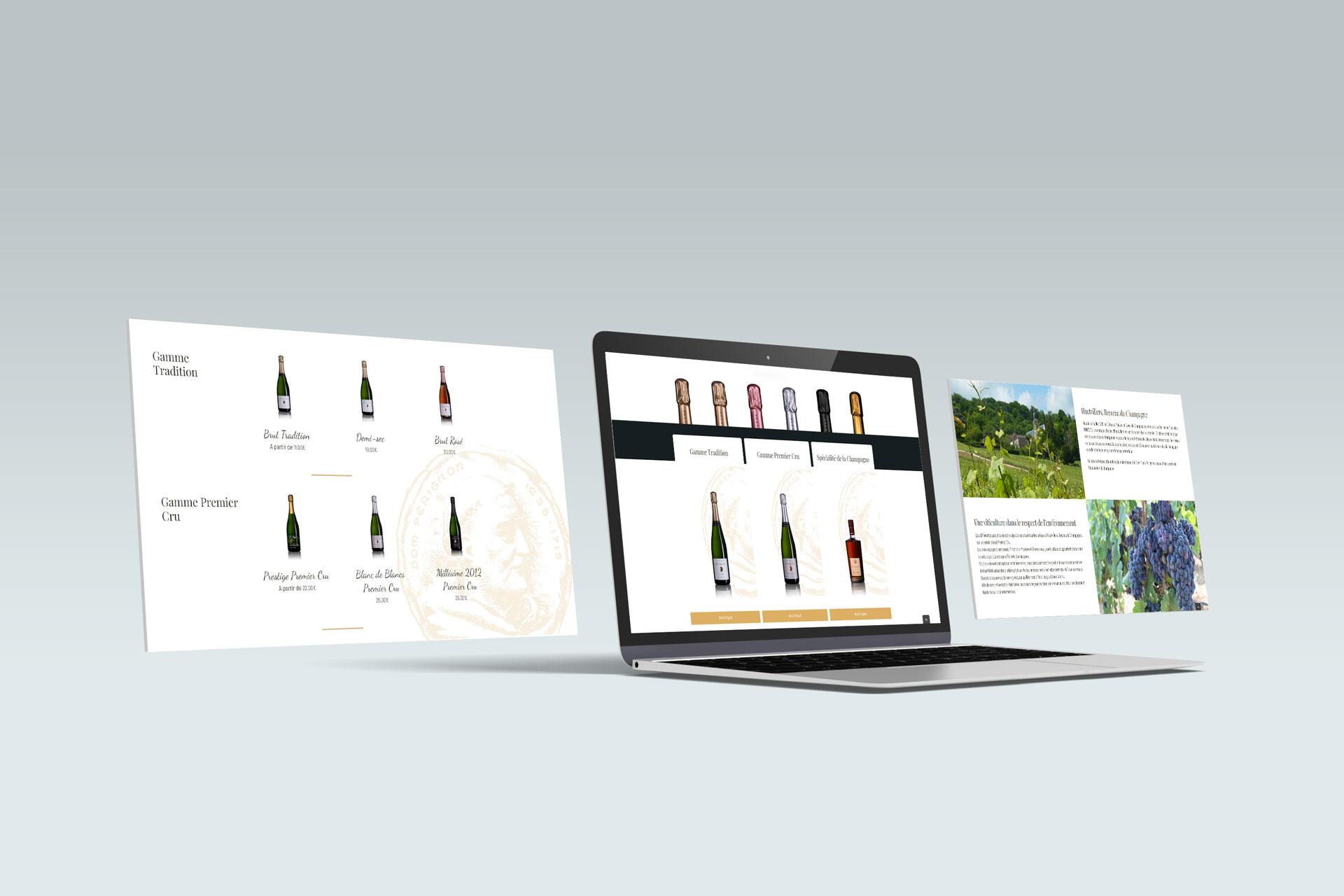 Création de site e-commerce Champagne