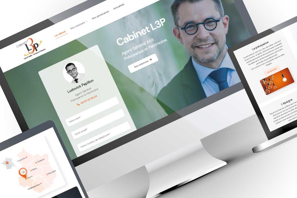 Création de site web cabinet d'assurances